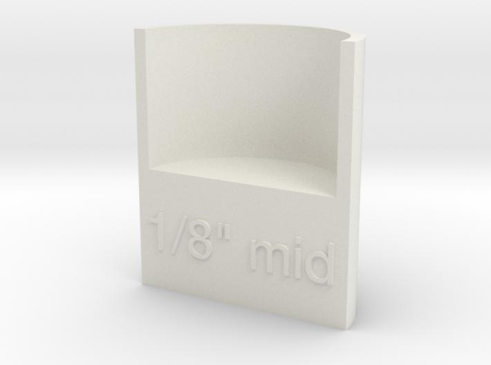 "Lasersaur focus: 1/8"" media, middle point 3d printed"