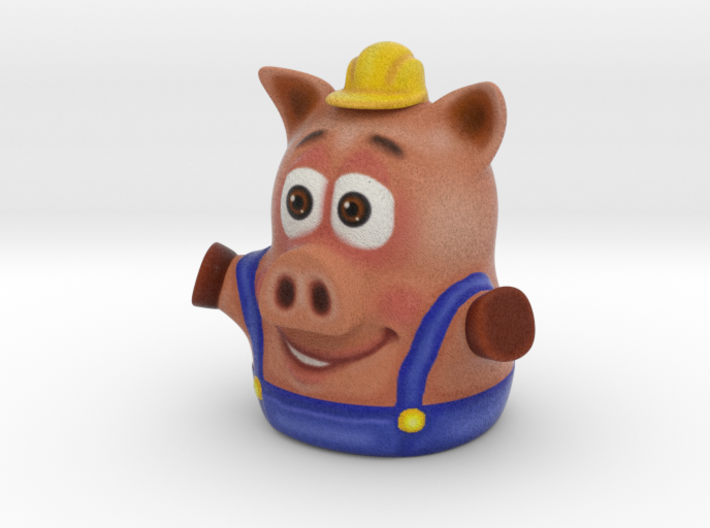 Three Little Pigs Puppet 002 3d printed