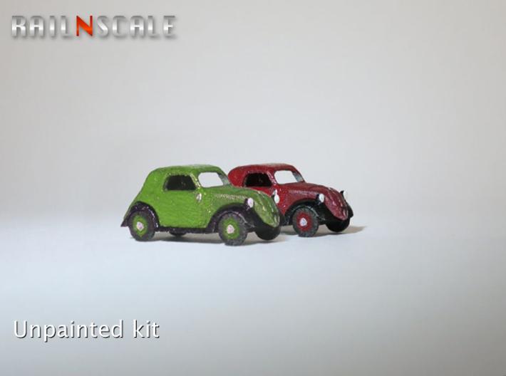 Fiat Topolino SET (N 1:160) 3d printed