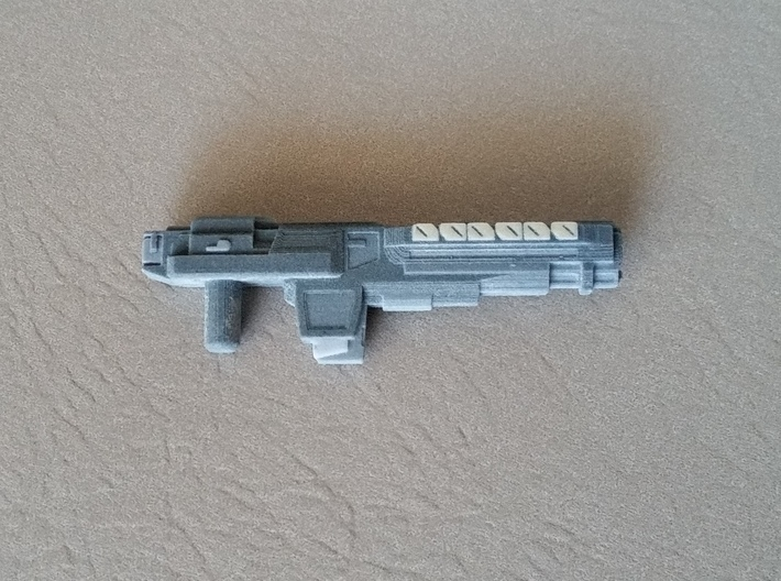 """VINDICATOR"" Transformers Weapon COLORED 5mm post 3d printed"