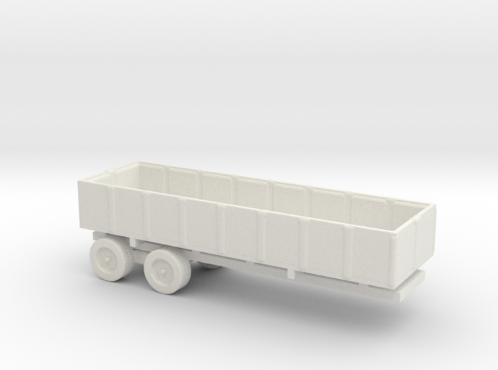 1/200 Scale M-35 Cargo Trailer 3d printed