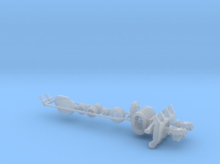 1/32 Flathead Ardun And SCOT Blower Kit 3d printed