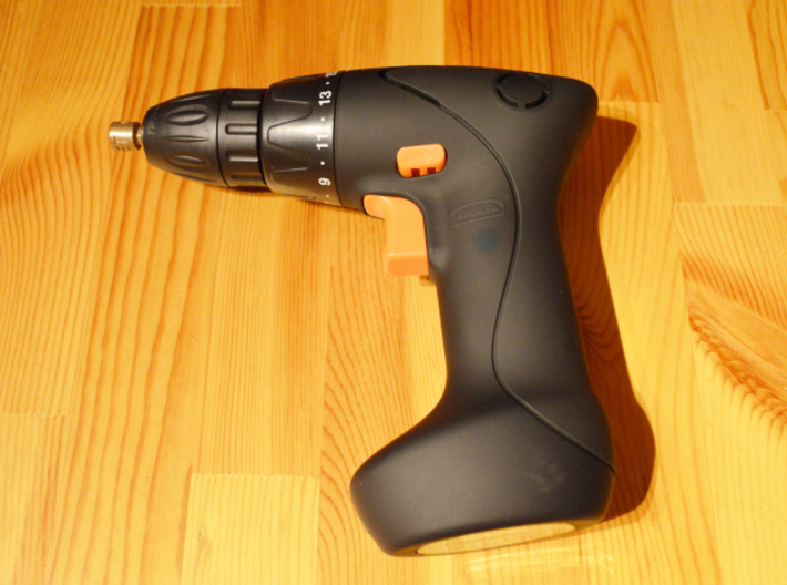 Coffee Grinder Bit For Drill Driver CDP-L 3d printed FIXA Screwdriver/drill, lithium-ion size 7.2 V