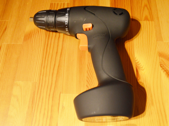Coffee Grinder Bit For Drill Driver CDP-LRE 3d printed FIXA Screwdriver/drill, lithium-ion size 14.4 V