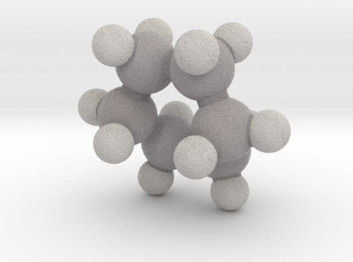 Cyclohexane (boat) 3d printed