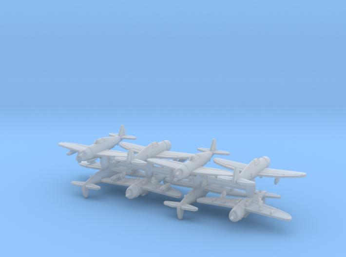 1/700 P-47D-10 w/Gear x8 (FUD) 3d printed