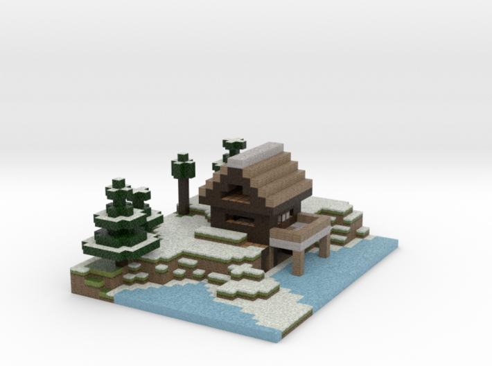Winter Lodge 3d printed