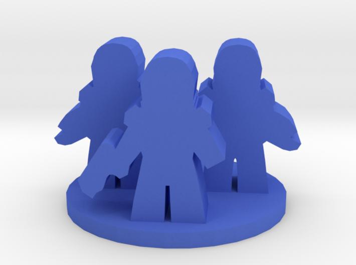 Game Piece, Space Troopers 3d printed