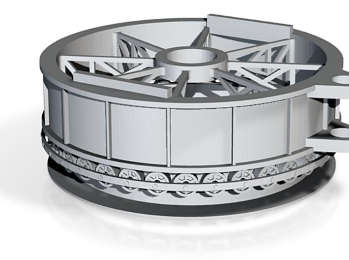 Swing Bridge Rim Bearing 3d printed