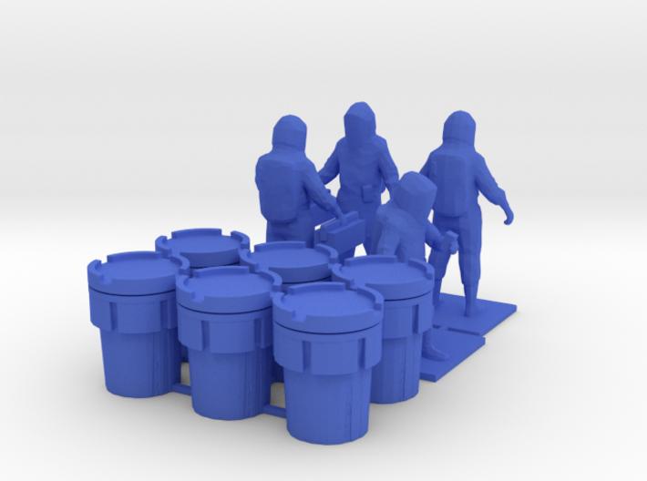 Hazmat Team 2, Multiple Scales 3d printed