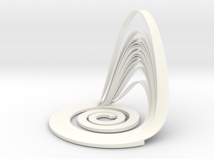 Rössler Attractor 3d printed