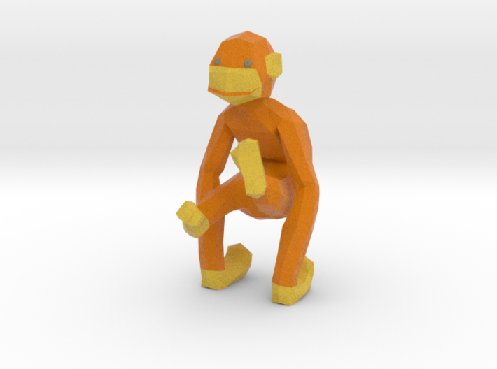 Stacy (the Chimpanzee) 3d printed