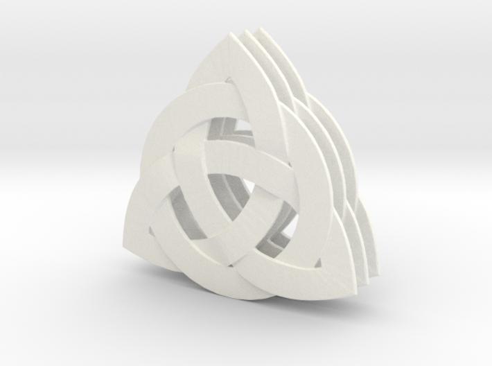 3X 33mm Celtic Knot Pick Thin 3d printed