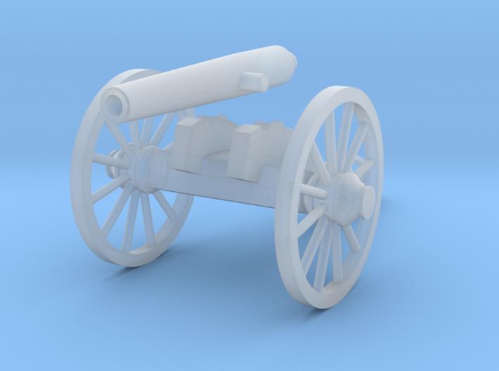 HO 12lb Napoleon (Confederate) 3d printed