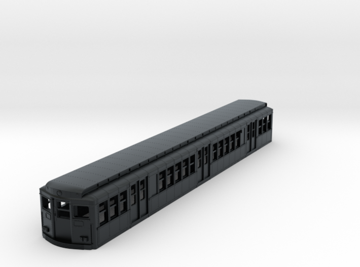 N Scale Phila BSL 1938 Subway Car Body Shell 3d printed