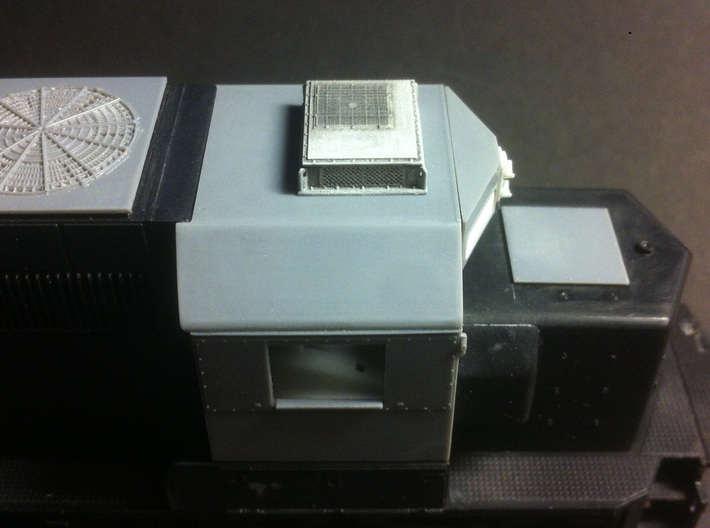 Rooftop-Mounted Air Conditioner Units 3d printed