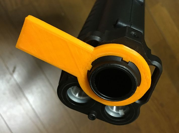 Barrel Ring Wrench for TM Airsoft KSG gas-shotgun 3d printed