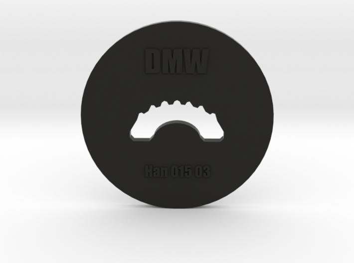 Clay Extruder Die: Handle 015 03 3d printed