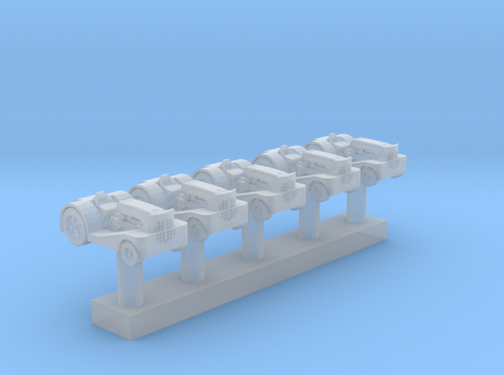 Moto-Tug WWII Carrier Tractor (5x) 3d printed