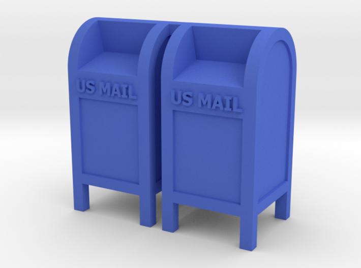 Mail Box - 'O' 48:1 Scale (2) 3d printed