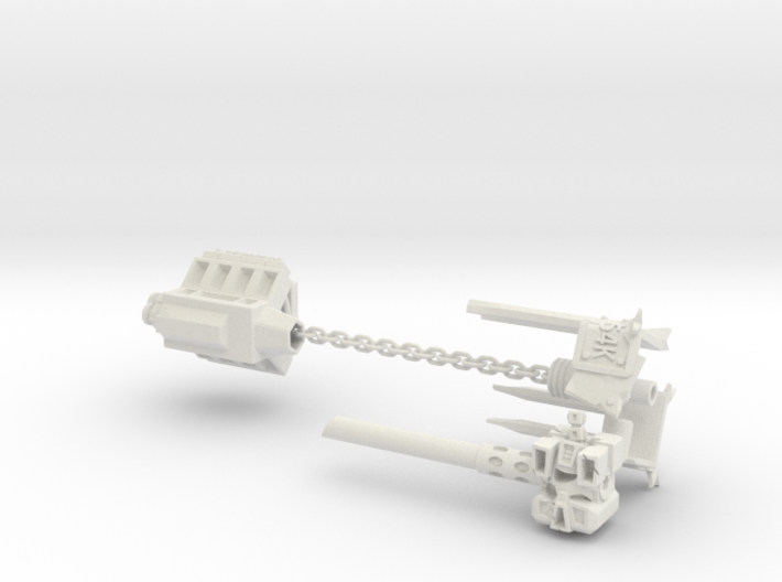 5mm MakeShift Weapons Set 3d printed