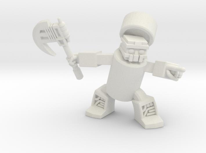 Khan-Dor, The Cola-Warrior 3d printed