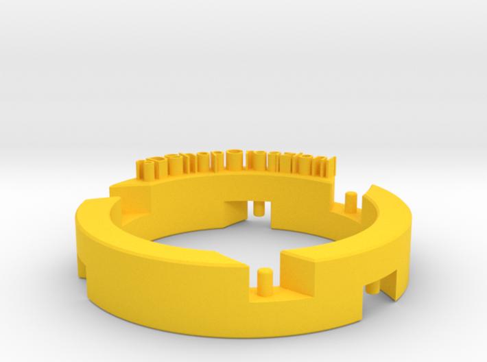 Celtic Pendant 1circle 3d printed