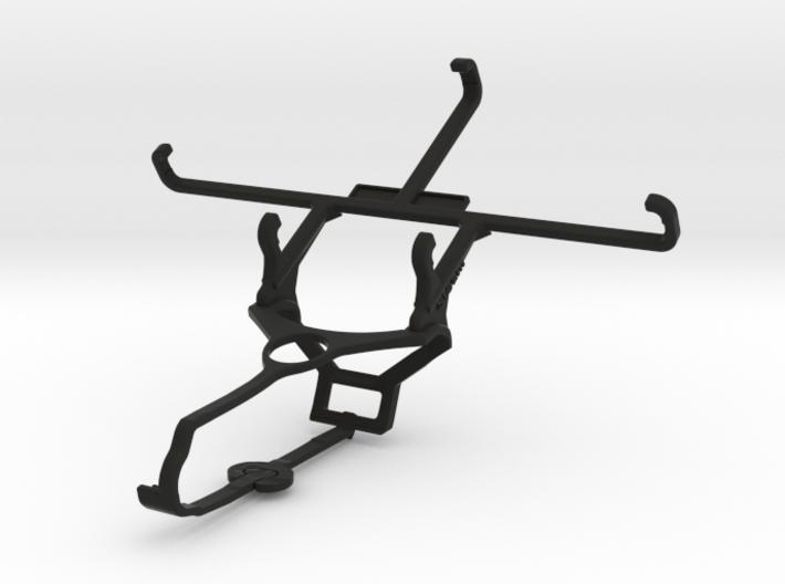 Steam controller & BLU Studio G2 - Front Rider 3d printed
