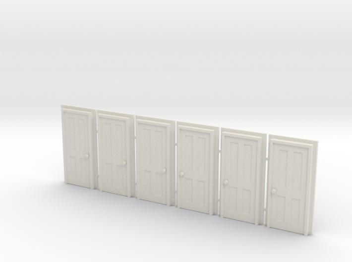 Door Type 5 - 810 X 2000 X 6 3d printed