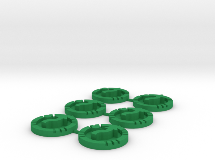 Star Wars X Wing Evade Tokens Set Of 6 3d printed