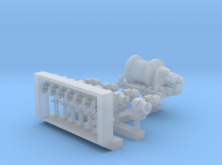 1:350 Scale Nimitz Class UNREP Details 3d printed