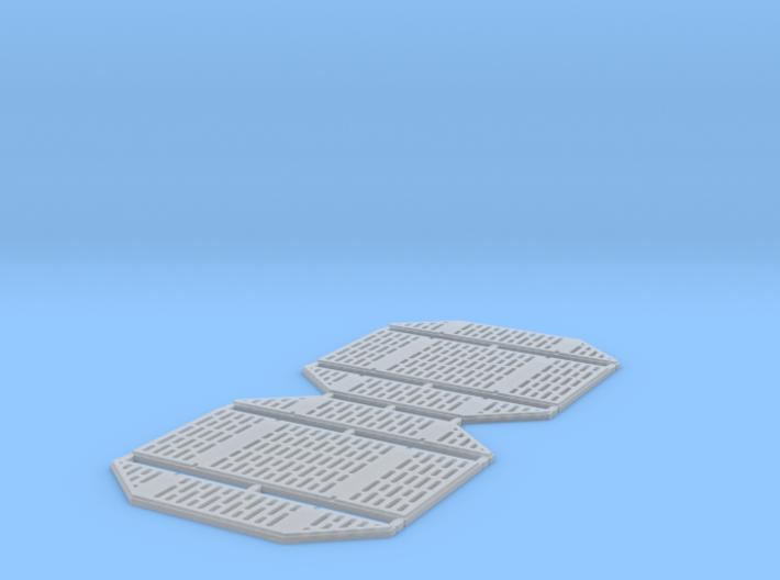 DeAgo Millennium Falcon Service Area Panels 3d printed
