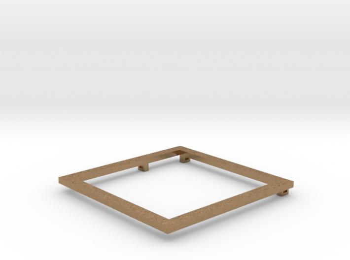 Square Pendant 3d printed