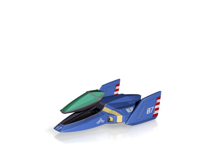 Blue Falcon (F-Zero) 3d printed