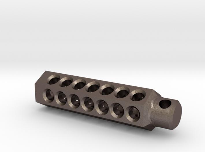 Tritium Fob1 for 3mm x 22.55mm vial 3d printed