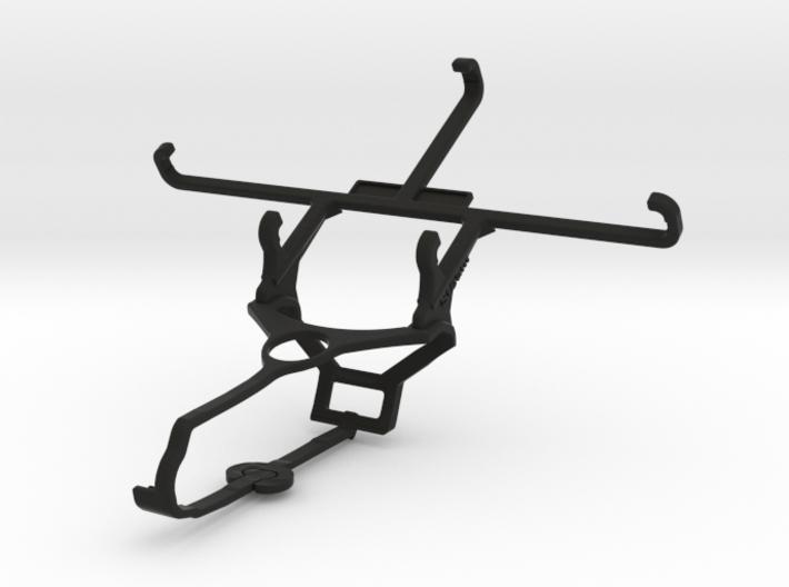Steam controller & Meizu m3s - Front Rider 3d printed