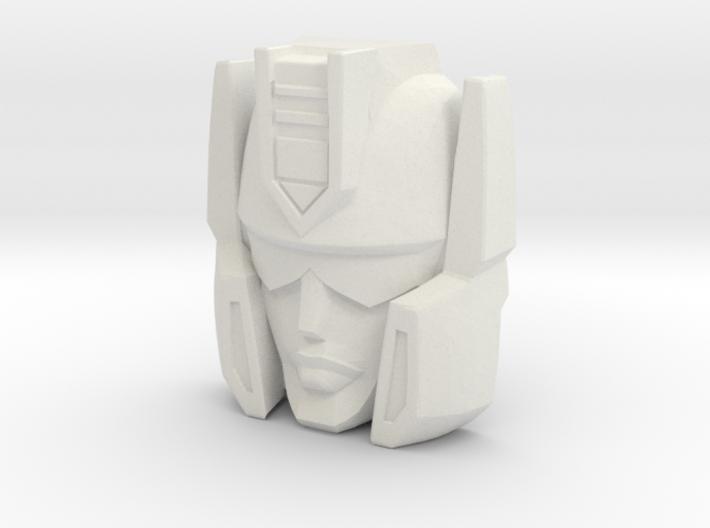 """R63 - """"Vizar"""" Face (Titans Return) 3d printed"""