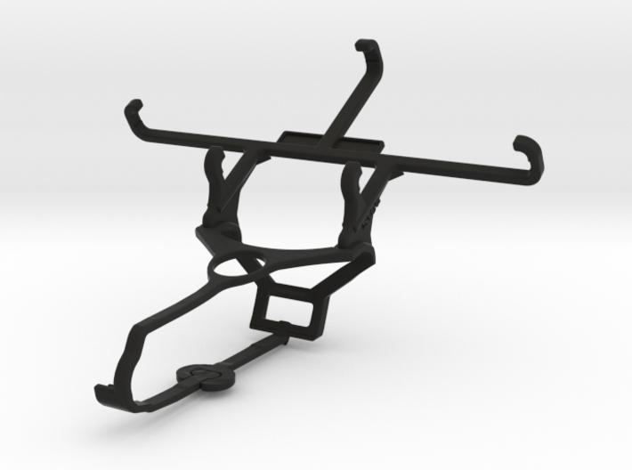 Steam controller & Plum Axe LTE - Front Rider 3d printed