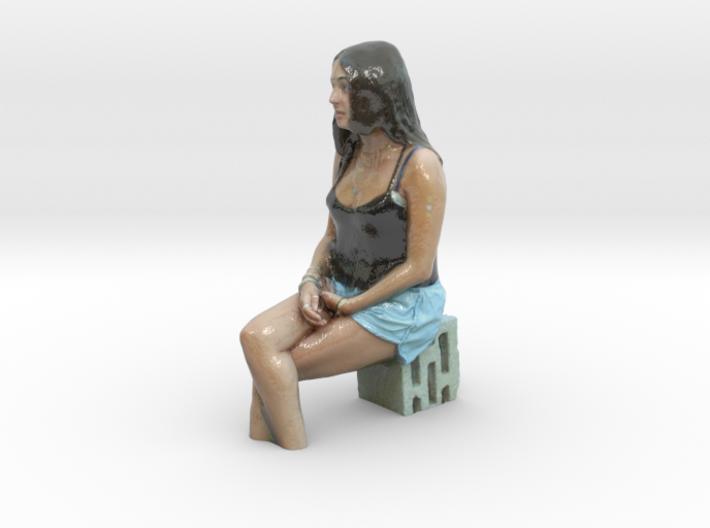 L-girl ggteam 3d printed