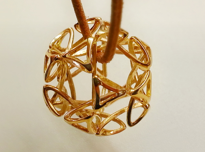 Pendant Dode 3d printed