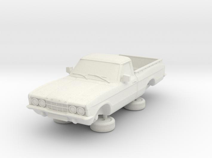 1-87 Ford Cortina Mk3 2 Door P100 3d printed