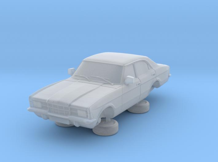 1-87 Ford Cortina Mk3 4 Door Standard Square Hl 3d printed