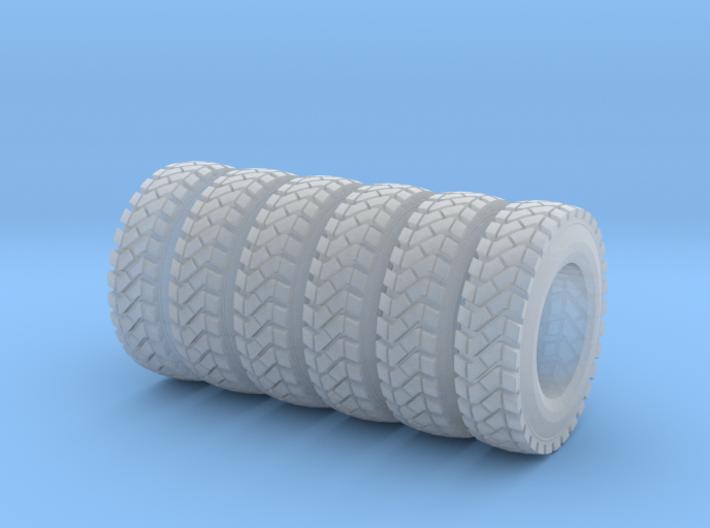Tire Set for Mattia 3d printed