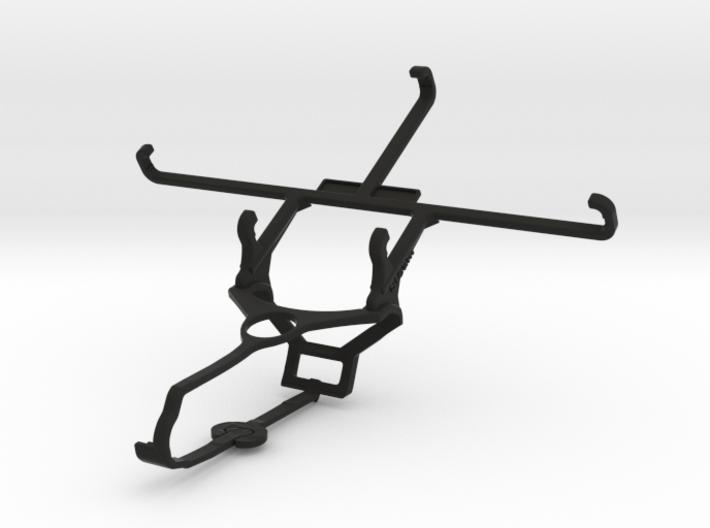 Steam controller & ZTE Blade X9 - Front Rider 3d printed