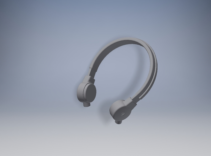 1/16 Panzer Throat Microphone 3d printed