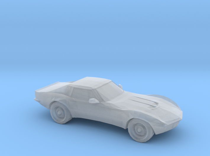 1/120 1969 Chevrolet Corvette Stingray 3d printed