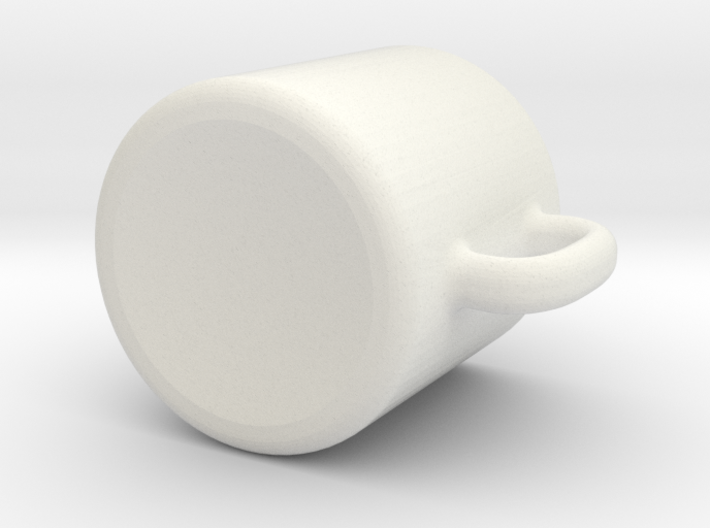 Dollhouse coffee mug 3d printed