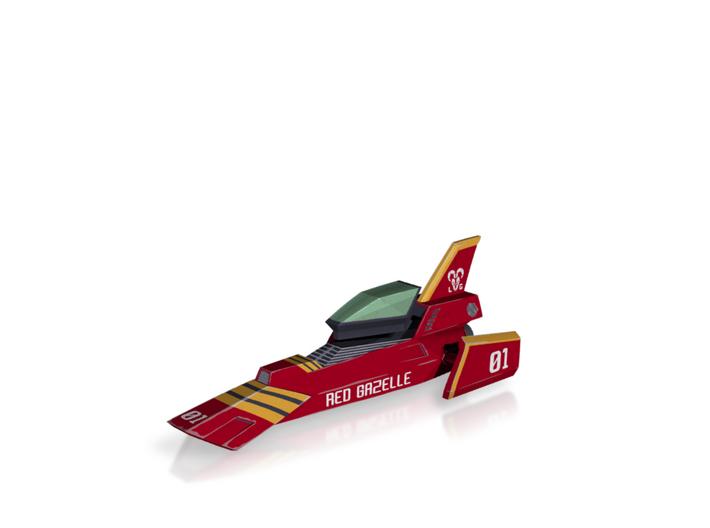 Red Gazelle (F-Zero) 3d printed