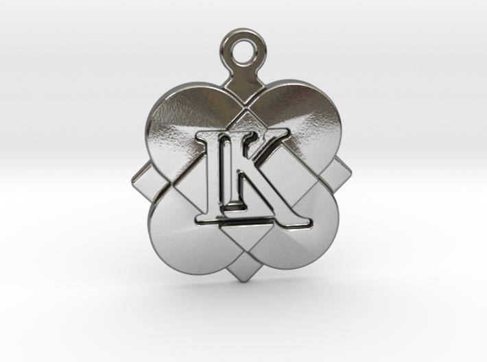 Custom Logo Charm 3d printed