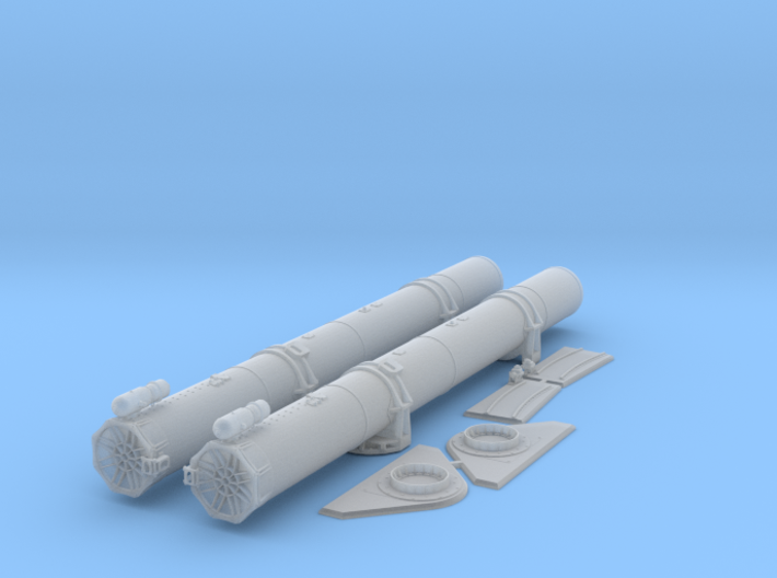 1/35 Torpedo Tubes (forward) for PT Boats 3d printed